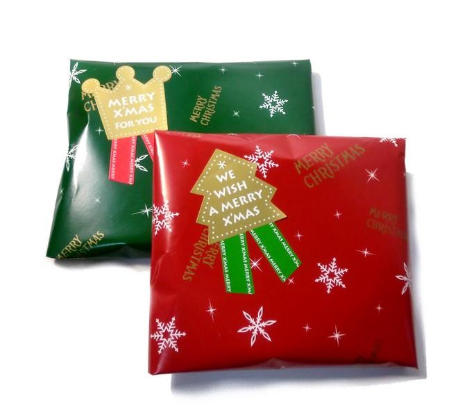 クリスマスプレゼント用ラッピング-2