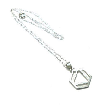 ベンゼン環のネックレス M