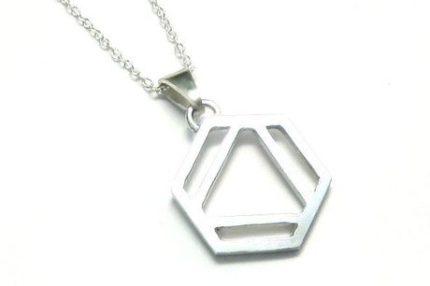 ベンゼン環のネックレスS