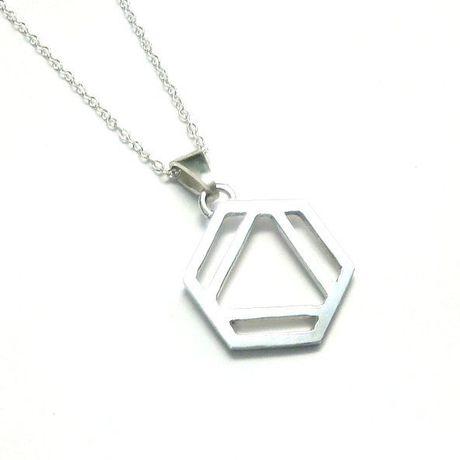 ベンゼン環のネックレス S