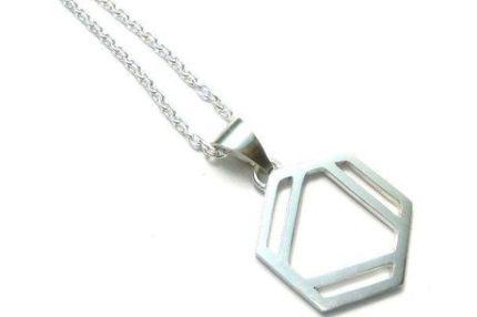 ベンゼン環のネックレスL