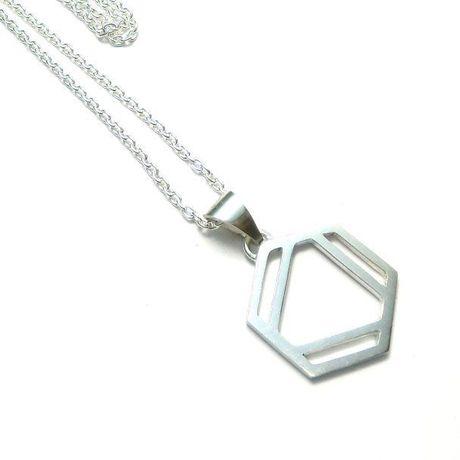 ベンゼン環のネックレス L