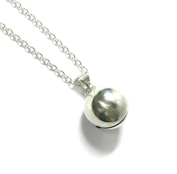 手作りシルバーアクセサリー/銀の鈴のネックレス15