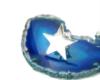 ピンバッチ/星型シルバーピンブローチ