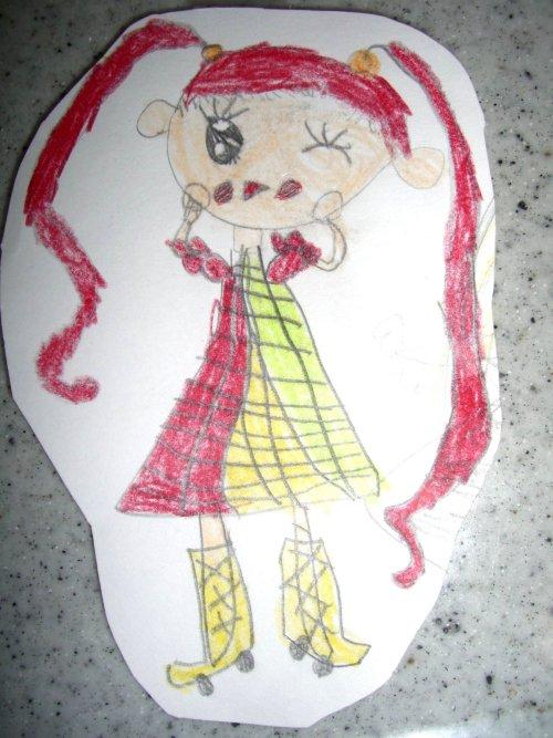 子供の絵で制作するアクセサリー003