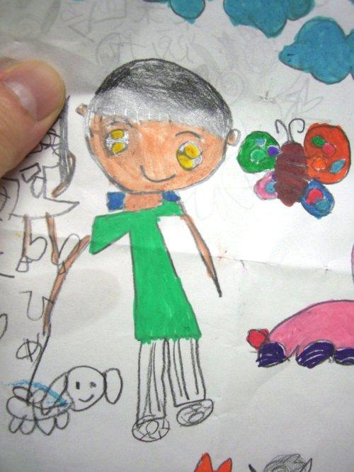 子供の絵で制作するアクセサリー004