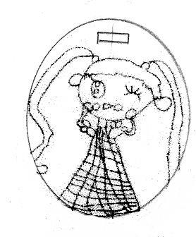 子供の絵で制作するアクセサリー005