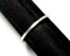 手作りシルバーアクセサリー/キラキラシルバーペアリング 1.5mm幅