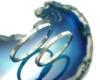 手作りシルバーアクセサリー/1.5mm幅槌目模様シルバーペアリング