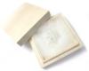 手作りシルバーアクセサリー/雪の結晶のシルバー帯留め