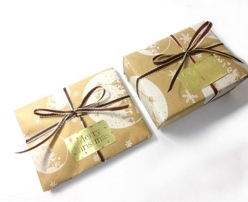 クリスマスプレゼント用ギフトラッピング